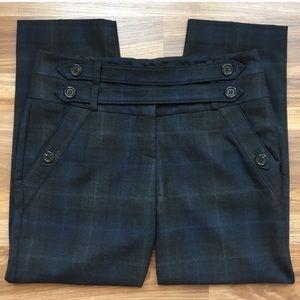 Anthropologie Cartonnier Plaid Trouser Pants
